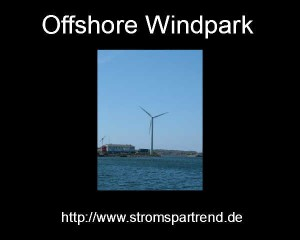 Windpark-Wasser