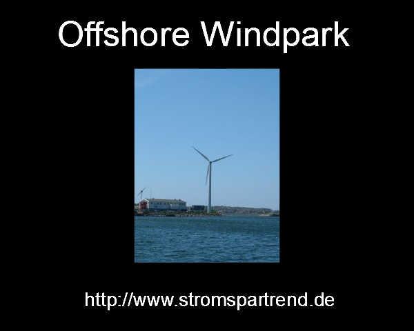 Stromkosten steigen wegen Offshore Windparks